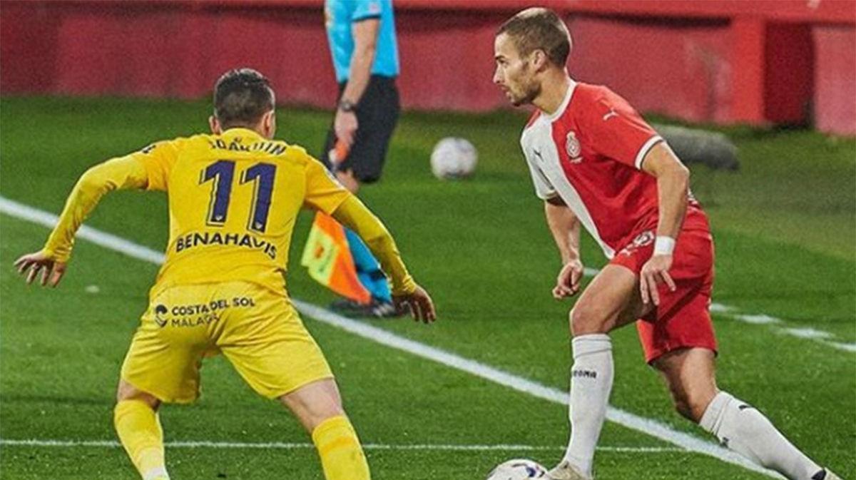 El resumen de la derrota del Girona ante el Málaga