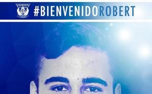 Robert Ibáñez, nuevo refuerzo del Leganés