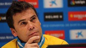 Rubi, entrenador del RCD Espanyol