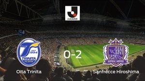 El Sanfrecce Hiroshima suma tres puntos a su casillero ante el Oita Trinita (0-2)