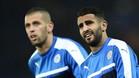 Slimani y Mahrez serán dos bajas significativas para el Leicester.