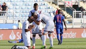 Sosa marcó el único gol del partido