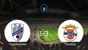El Tenisca derrota en el Juan Guedes al Tamaraceite (1-3)