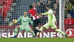 Ter Stegen fue decisivo para el Barça ante el Athletic