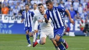 Theo juega cedido en el Alavés