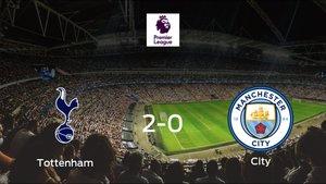 El Tottenham Hotspur consigue la victoria frente al Manchester City (2-0)