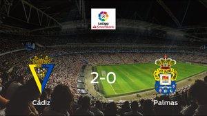 Triunfo del Cádiz por 2-0 frente al Las Palmas