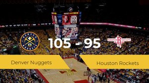Triunfo de Denver Nuggets ante Houston Rockets por 105-95