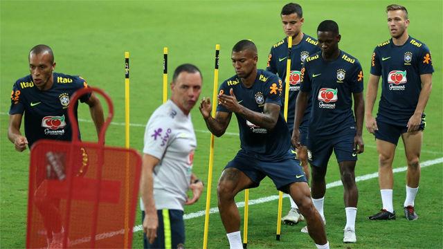 Último entrenamiento de Brasil antes de medirse a Arabia Saudita