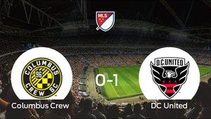 El DC United venció 0-1 en casa del Columbus Crew