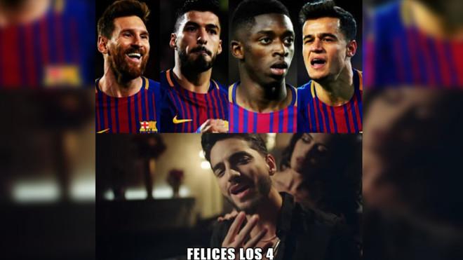 Los mejores memes y tuits del FC Barcelona - Girona