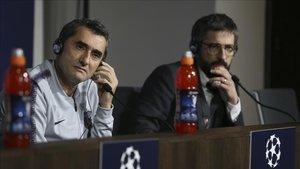 Valverde se quedó helado ante una pregunta de la prensa internacional