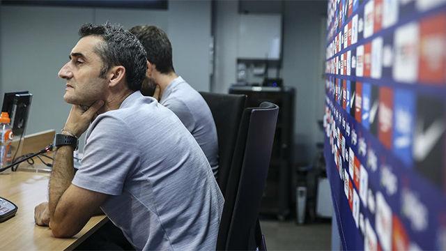 Valverde restó importancia al enfado de Arturo Vidal