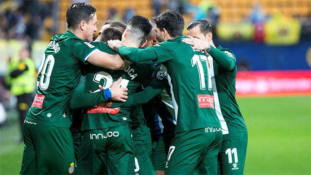 Vital triunfo del Espanyol en casa del Villarreal