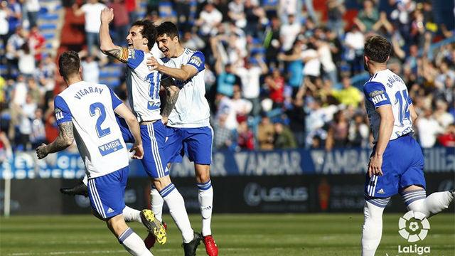 El Zaragoza mete presión al Cádiz con la victoria ante el Depor