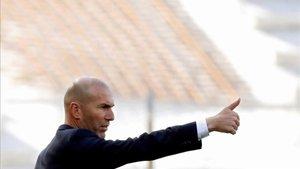 Zidane sigue sin estrenarse fuera de casa