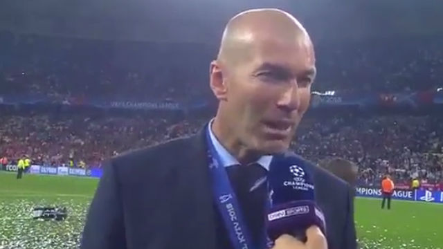 Zidane: No tenemos palabras