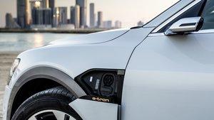 Audi e-tron, el primer vehículo que usa el estándar EEBUS de comunicación.