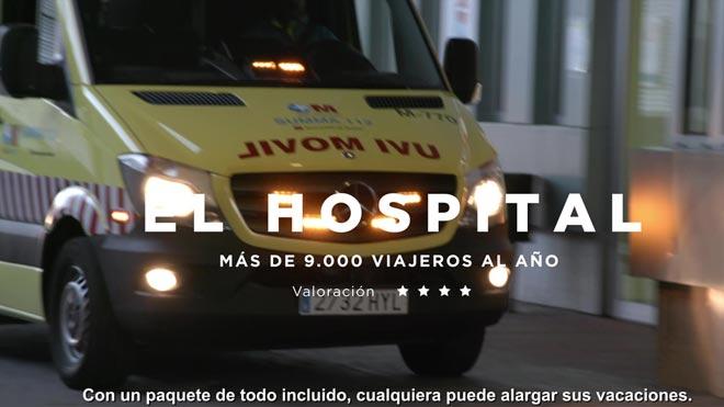 Campaña de sensibilización de la Dirección General de Tráfico para Semana Santa. El hospital