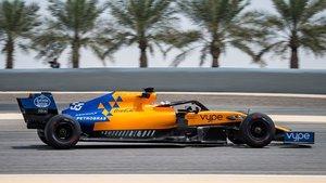 El logo de Petrobras figura en el capó del McLaren