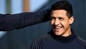 Alexis nunca despuntó en el Manchester United
