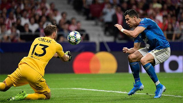 Ante la Juventus, Oblak volvió a demostrar por qué es uno de los mejores porteros del mundo