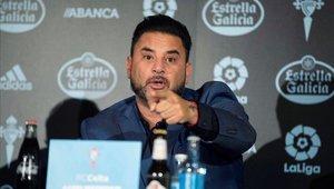 Antonio Mohamed no ha logrado sumar buenos resultados con el Celta de Vigo