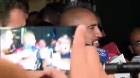 Arturo Vidal se pronuncia sobre su reclamación al Barça