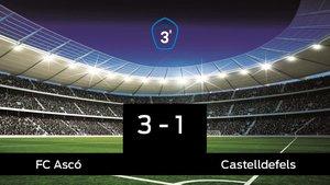 El Ascó derrota en casa al Castelldefels por 3-1