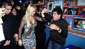 Así se enteró Veronica Ojeda, uno de los amores de Maradona, de la muerte del argentino