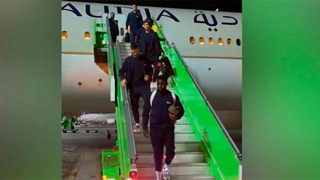 Así ha sido la llega del FC Barcelona a Jeddah