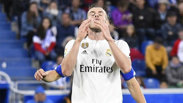 Bale vuelve a entrenarse con el grupo