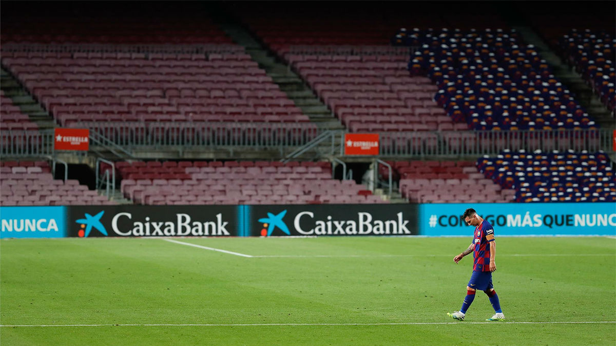 El Barça se aleja de la Liga ante el Atlético