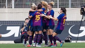El Barça femenino se impuso en el campo del Espanyol con un gran partido