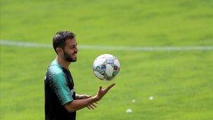 Bernardo Silva, internacional portugués del Manchester City