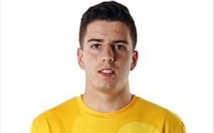 Carlos Morales, meta del Atlético de Madrid B