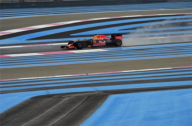 El circuito de Paul Ricard del GP de Francia de F1 (ES)