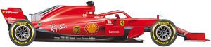 El coche de Ferrari para el Mundial de F1 de 2018