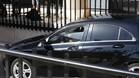 Cristiano Ronaldo entró escondido en el vehículo