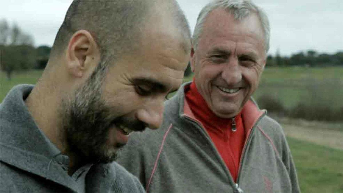 Cruyff fue un maestro para Guardiola