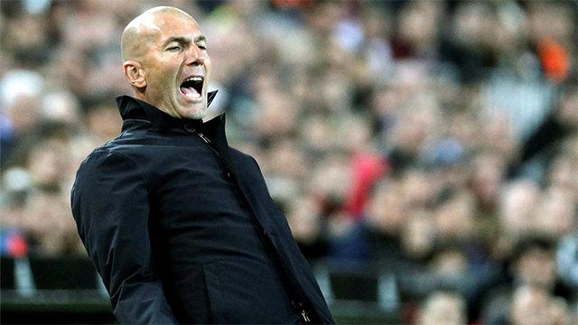 Cuando ya no te funciona nada: La imagen del Valencia - Madrid que delata la desesperación de Zidane