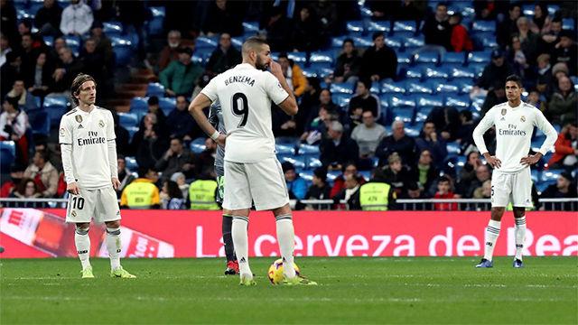Debacle blanca: El Madrid sigue sin ganar en 2019