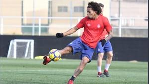 Douglas Luiz jugó cedido en el Girona la pasada campanya