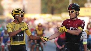 Egan Bernal y Geraint Thomas, ausentes en La Vuelta