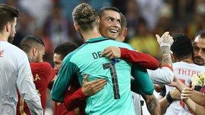 España y Portugal se vieron las caras por última vez en el Mundial 2018