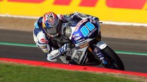 El español Jorge Martín (Honda) es líder provisional de Moto3