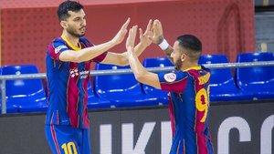 Esquerdinha y Ximbinha fueron los dos primeros goleadores del Barça