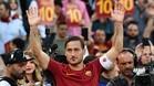 Francesco Totti se despidió como futbolista tras 21 temporadas en la Roma