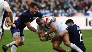 Francia mantuvo la tradición de ganar a Escocia en París