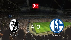 El SC Freiburg se queda con los tres puntos frente al Schalke 04 (4-0)